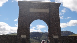 Entrance Arch at North Gate